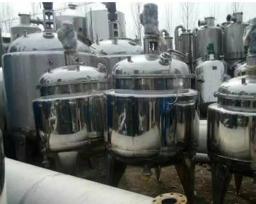 二手不锈钢反应釜设备